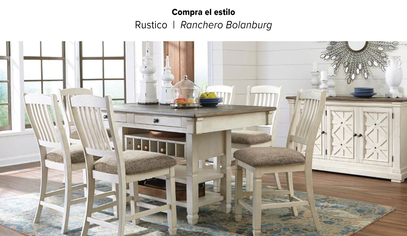 Shop the Look Bolanburg Dining